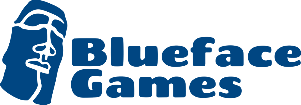 Image of Blueface Games Logo with Title Web.