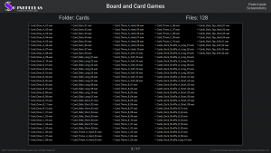 Board and Card Games - Contents Screenshot 02