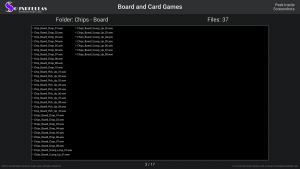 Board and Card Games - Contents Screenshot 03