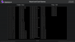 Board and Card Games - Contents Screenshot 07