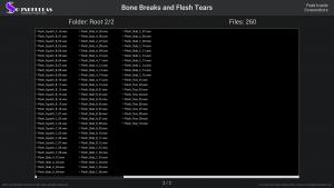 Bone Breaks and Flesh Tears - Contents Screenshot 02