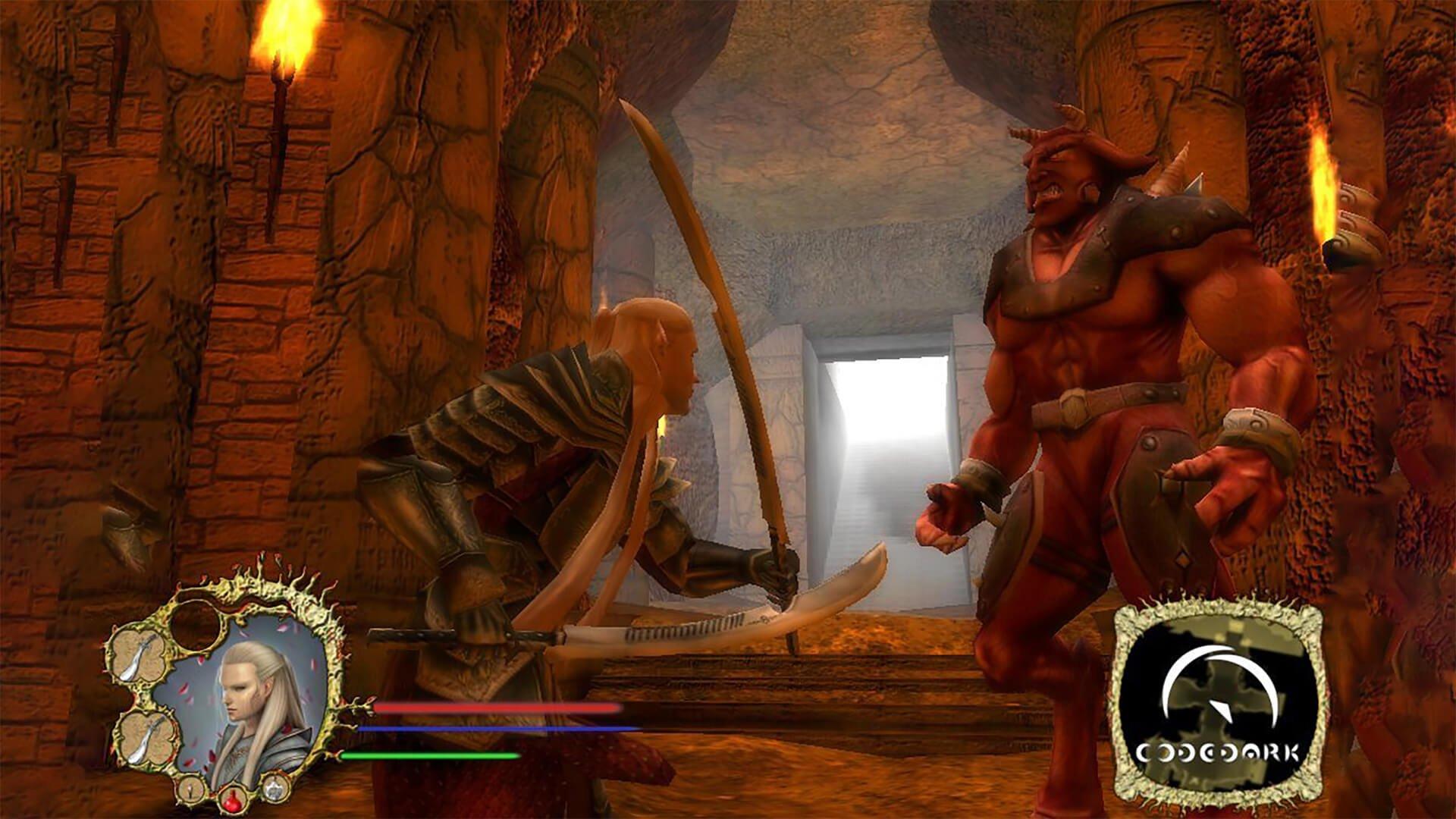 Image of Codedark Arkaloria Gameplay Screenshot Web.