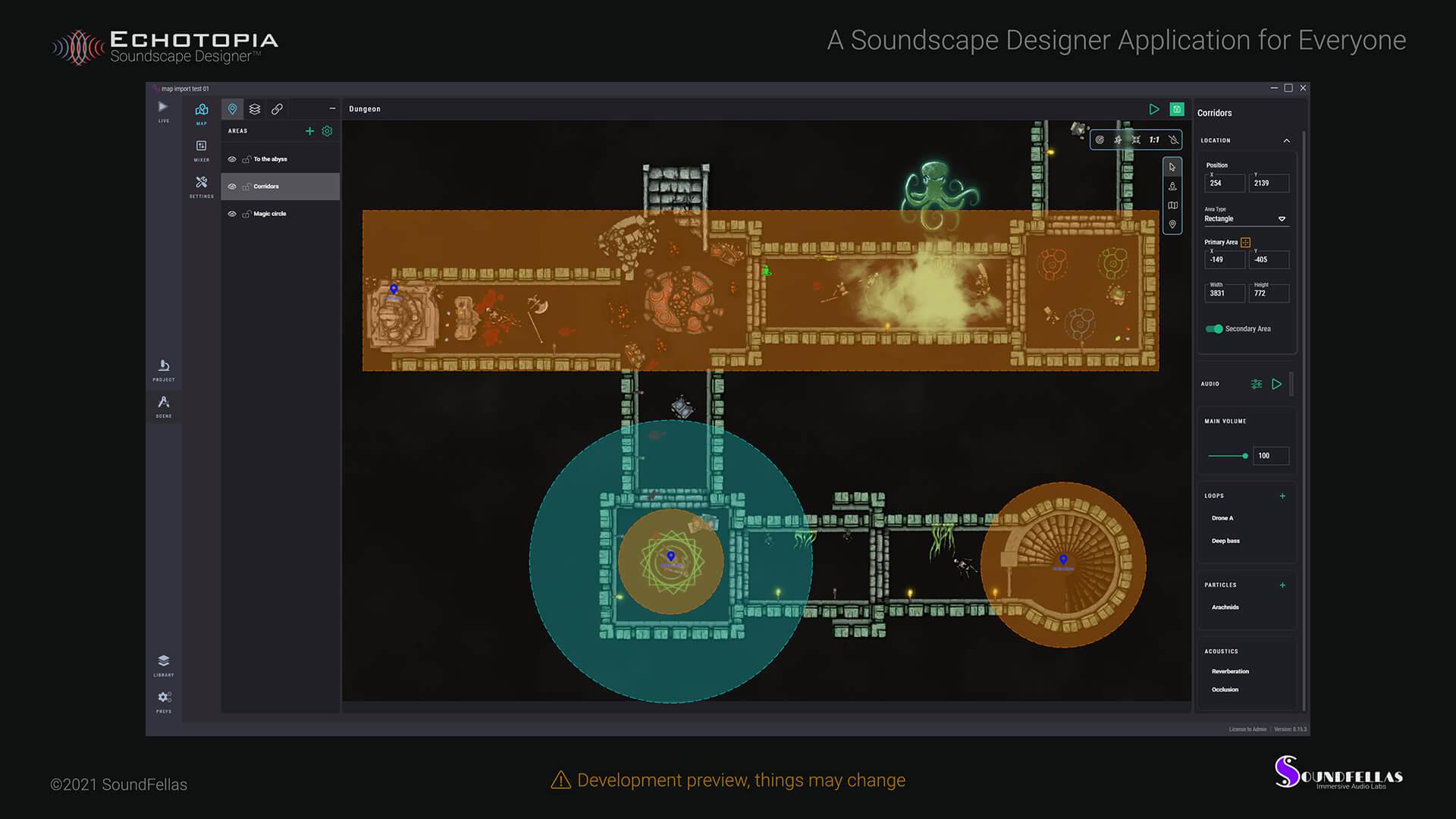 Image of Echotopia Development Preview A Soundscape Designer for Everyone Web.