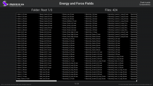 Energy and Force Fields - Contents Screenshot 01