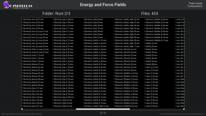 Energy and Force Fields - Contents Screenshot 02
