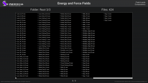 Energy and Force Fields - Contents Screenshot 03