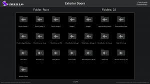 Exterior Doors - Contents Screenshot 01