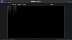 Exterior Doors - Contents Screenshot 02