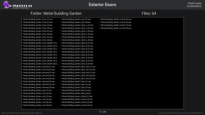 Exterior Doors - Contents Screenshot 07