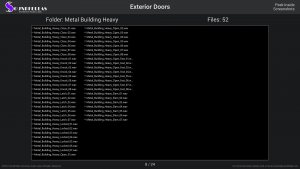 Exterior Doors - Contents Screenshot 08