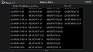 Exterior Doors - Contents Screenshot 09