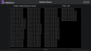 Exterior Doors - Contents Screenshot 10