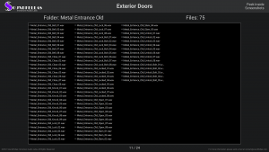 Exterior Doors - Contents Screenshot 11