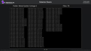 Exterior Doors - Contents Screenshot 14