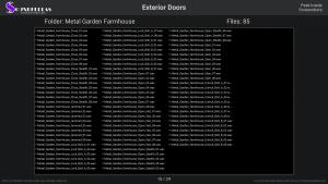Exterior Doors - Contents Screenshot 15