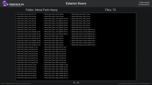 Exterior Doors - Contents Screenshot 16