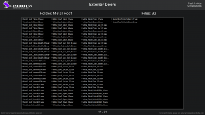 Exterior Doors - Contents Screenshot 17