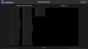 Exterior Doors - Contents Screenshot 19
