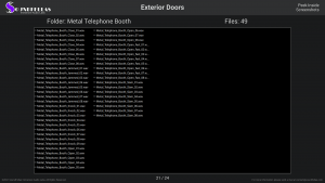 Exterior Doors - Contents Screenshot 21