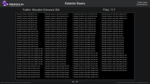 Exterior Doors - Contents Screenshot 23