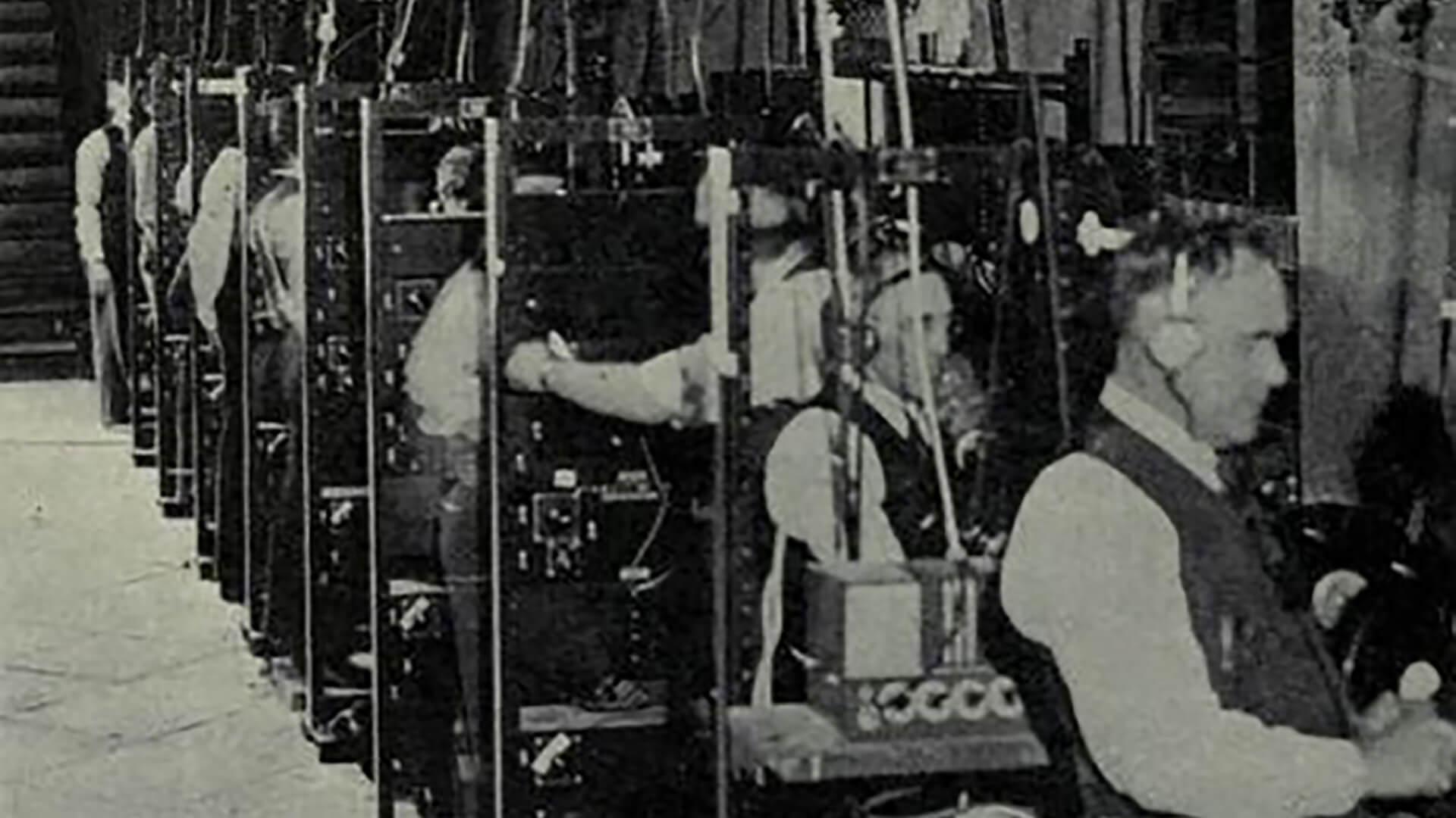 Image of Fantasound operators.