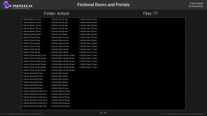 Fictional Doors and Portals - Contents Screenshot 02