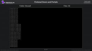 Fictional Doors and Portals - Contents Screenshot 05