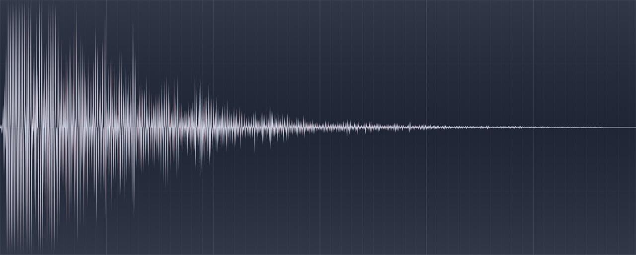 Image of HDR Audio Sound effect waveform.