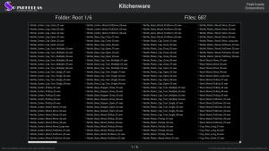 Kitchenware - Contents Screenshot 01