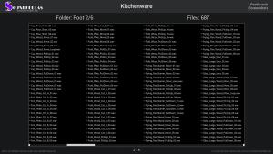 Kitchenware - Contents Screenshot 02