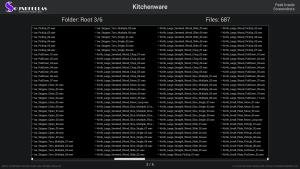 Kitchenware - Contents Screenshot 03