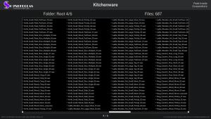 Kitchenware - Contents Screenshot 04