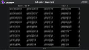 Laboratory Equipment - Contents Screenshot 04
