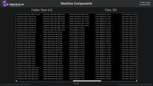 Machine Components - Contents Screenshot 03