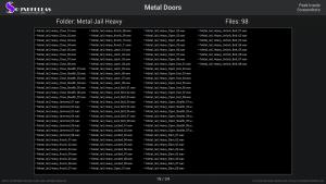 Metal Doors - Contents Screenshot 19