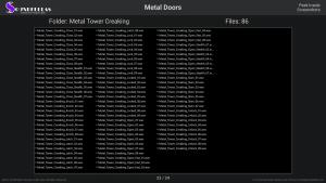 Metal Doors - Contents Screenshot 23