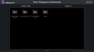 Retro Videogames Synthesized - Contents Screenshot 01