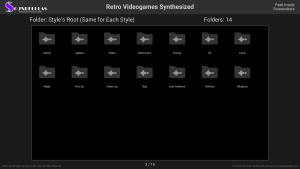 Retro Videogames Synthesized - Contents Screenshot 02