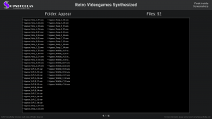 Retro Videogames Synthesized - Contents Screenshot 04