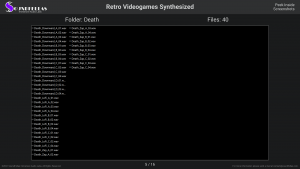 Retro Videogames Synthesized - Contents Screenshot 05