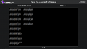 Retro Videogames Synthesized - Contents Screenshot 06