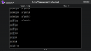 Retro Videogames Synthesized - Contents Screenshot 09