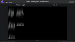 Retro Videogames Synthesized - Contents Screenshot 10