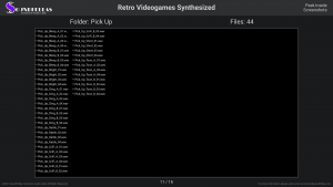 Retro Videogames Synthesized - Contents Screenshot 11