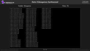Retro Videogames Synthesized - Contents Screenshot 16
