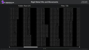 Rigid Metal Hits and Movements - Contents Screenshot 02