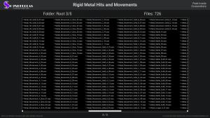 Rigid Metal Hits and Movements - Contents Screenshot 03