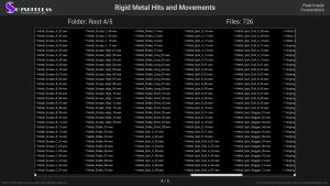 Rigid Metal Hits and Movements - Contents Screenshot 04