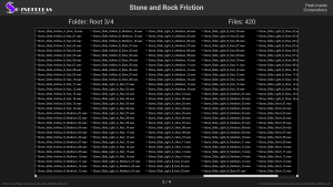 Stone and Rock Friction - Contents Screenshot 03