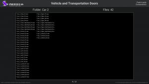 Vehicle and Transportation Doors - Contents Screenshot 04